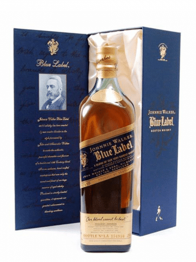 johnnie walker blue label vintage