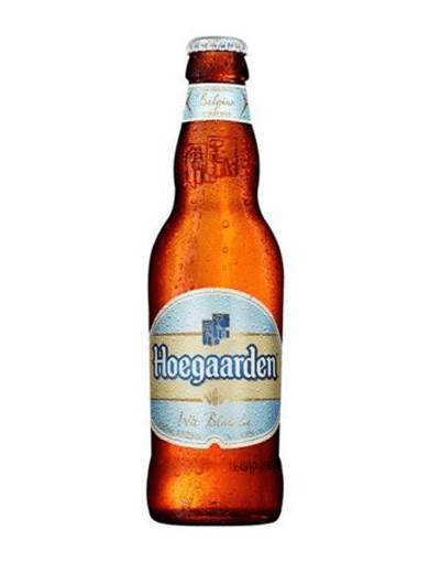 hoegaarden beer pint bottle