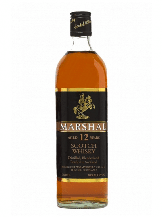 Marshal 12 years blended