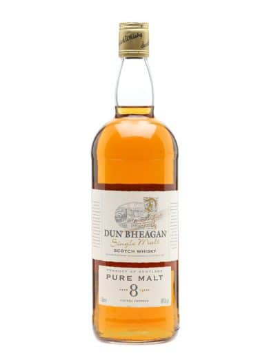 Dun Bheagan Pure Malt 8yrs Finest Malt Scotch Whisky 700ml
