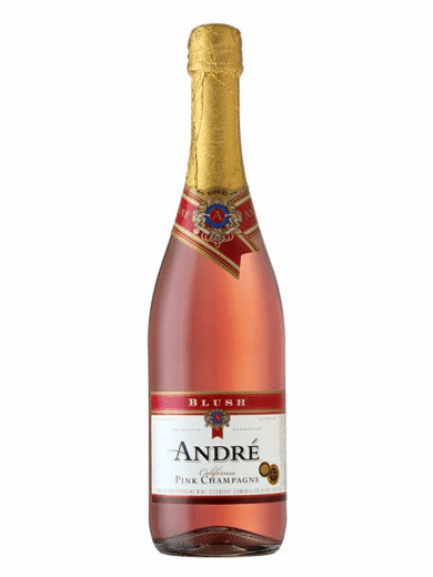 Andre Blush Pink Sparkling Wine 750ml