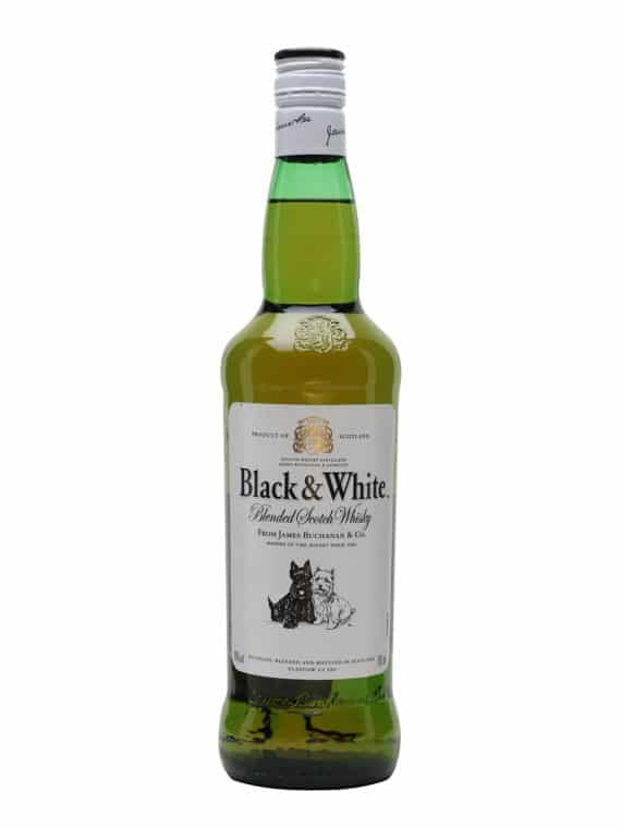 black & white scotch whisky 700ml