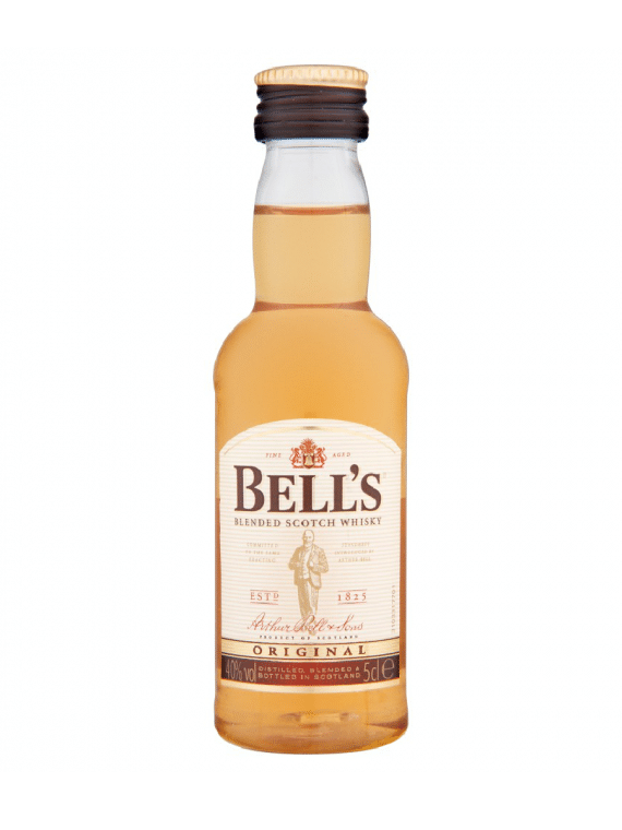 Mini bell's finest old scotch whisky