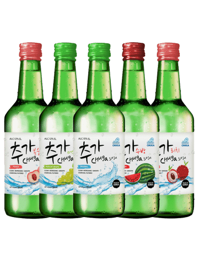 Chuga Soju 5-Bottle Bundle