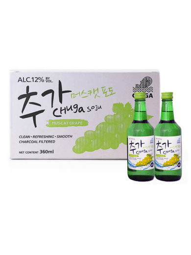 Chuga Soju Muscat Grape
